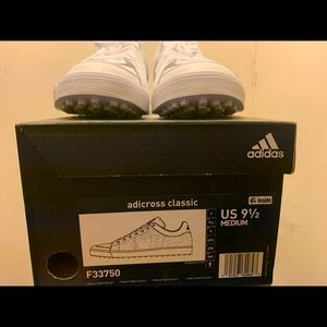 Adidas Adicross Classic Golf Shoes New